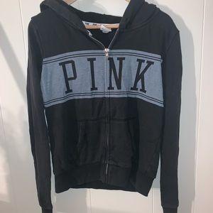 PINK Victoria's Secret Jackets & Coats - pink zip up jacket